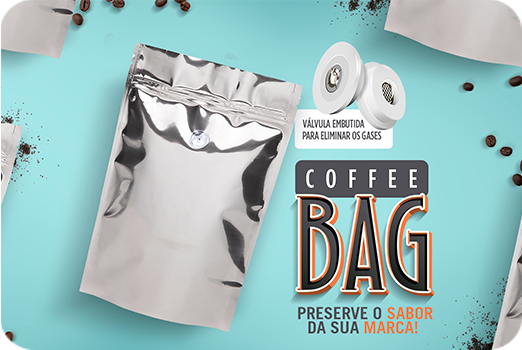 Stand-up Pouches: Coffee Bag!   Preserve o sabor da sua marca!